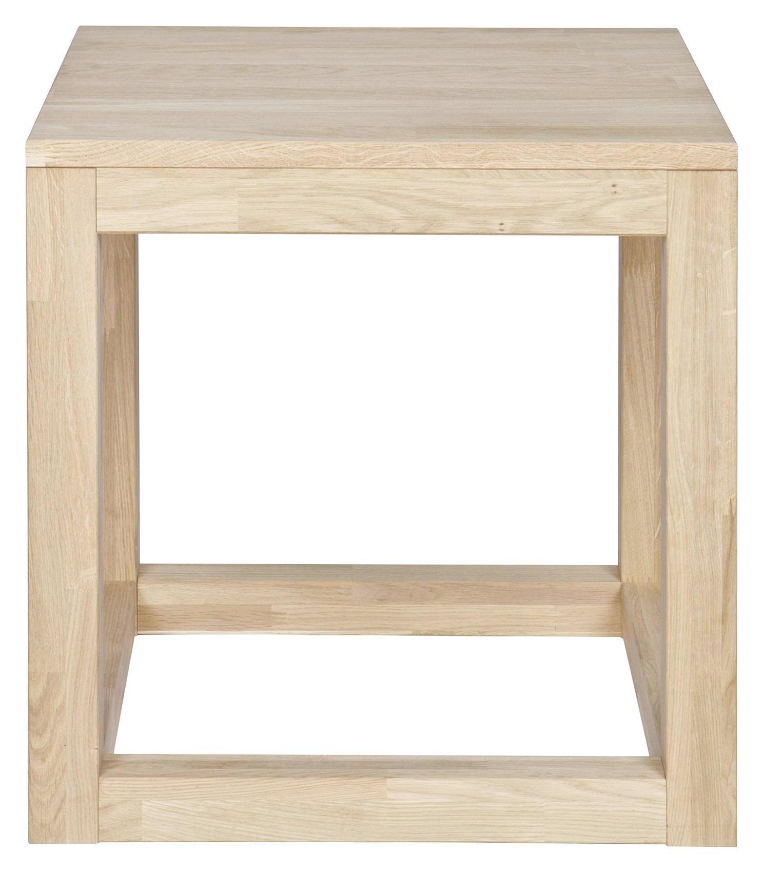 BEISTELLTISCH in Eichefarben - Eichefarben, Design, Holz (45/47/45cm) - Ambia Home