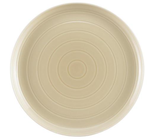 TALÍŘ DEZERTNÍ, porcelán - béžová, Design, keramika (21cm) - Novel