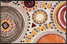FUßMATTE 50/75 cm Graphik Multicolor, Naturfarben  - Multicolor/Naturfarben, Basics, Kunststoff/Textil (50/75cm) - Esposa