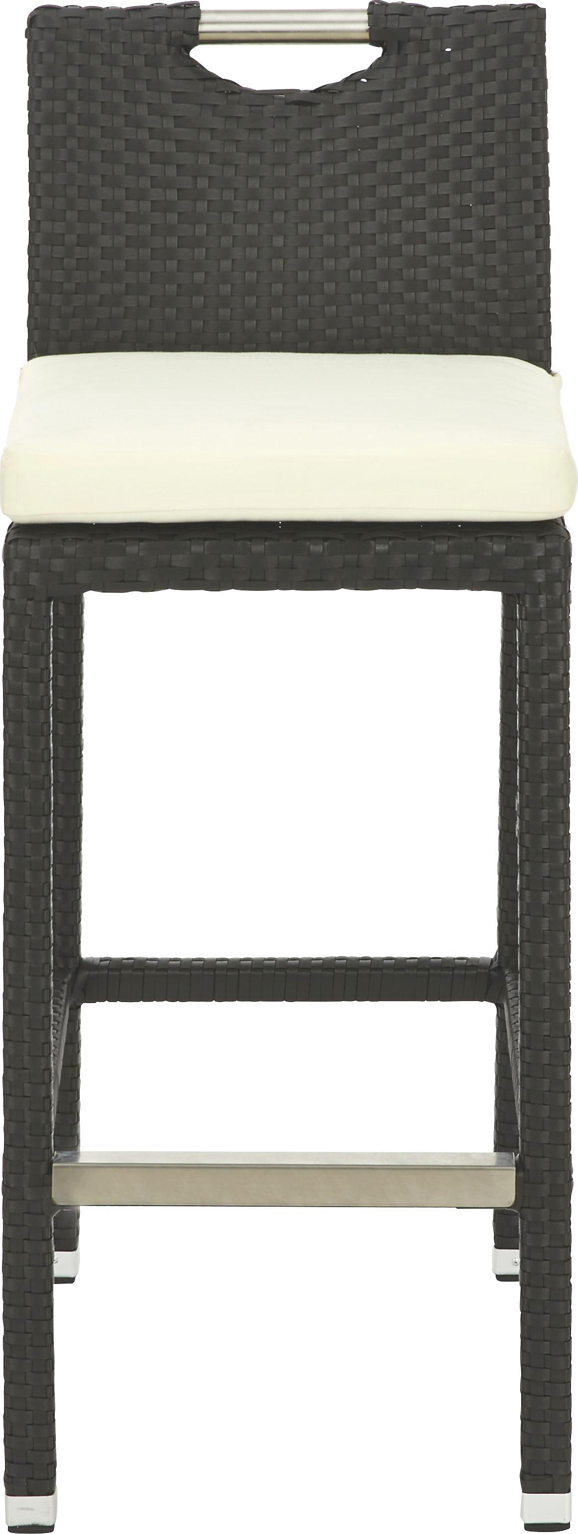 BARSKA STOLICA - crna, Design, metal/tekstil (40/100/50cm) - AMBIA GARDEN