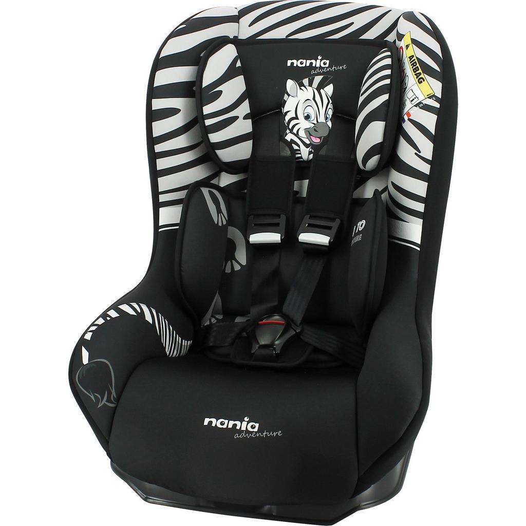 XXXLutz Kinderautositz osann safety plus zebra