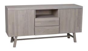 SIDEBOARD - naturfärgad, Klassisk, trä (160/80/45cm) - Rowico