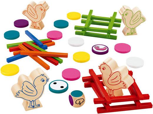 LERNSPIEL - Multicolor, Holz (20,20/20,20/5,20cm) - Selecta