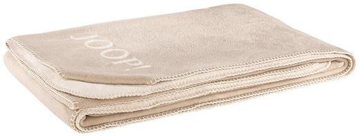 WOHNDECKE 150/200 cm Braun, Sandfarben - Sandfarben/Braun, Basics, Textil (150/200cm) - JOOP!