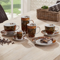 KAFFEEBECHER 500 ml - Braun, Design, Keramik (0.5l) - Ritzenhoff Breker