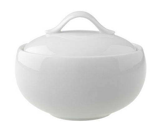 ZUCKERDOSE Keramik - Weiß, Basics, Keramik (0,45l) - Villeroy & Boch