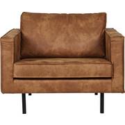 KŘESLO - černá/hnědá, Design, kov/textil (105/85/86cm) - Ambia Home