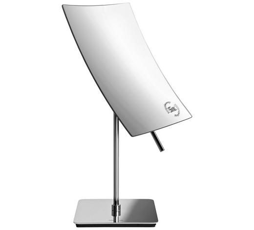KOSMETIKSPIEGEL  - Silberfarben, Basics, Glas/Metall (14/11/28,5cm) - Blomus