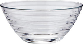 SCHÜSSEL 23 cm - Klar/Transparent, Design, Glas (23cm) - Homeware