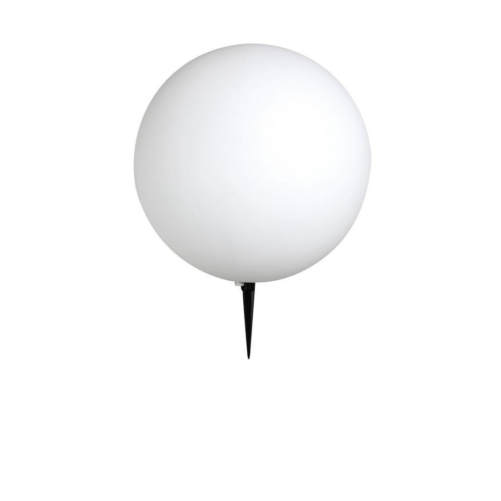 XXXL AUßENKUGELLEUCHTE, Weiß | Lampen > Tischleuchten > Kugelleuchten