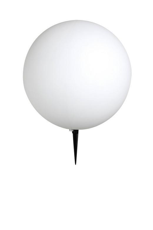 AUßENKUGELLEUCHTE Weiß - Schwarz/Weiß, MODERN, Kunststoff (40/56cm)