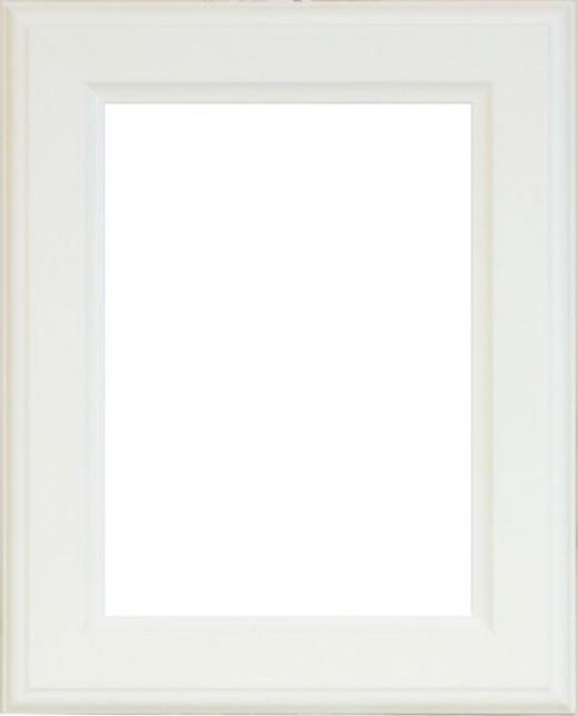 BILDERRAHMEN in Weiß - Weiß, Basics, Glas/Holz (21/30cm)