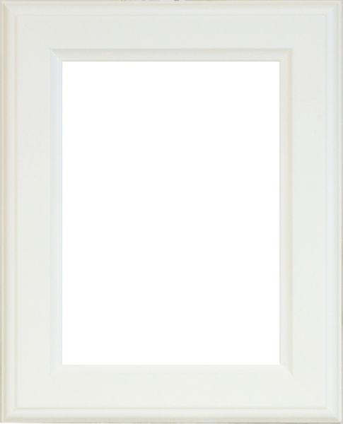 RÁM NA OBRAZY - bílá, Basics, dřevo/sklo (21/30cm)