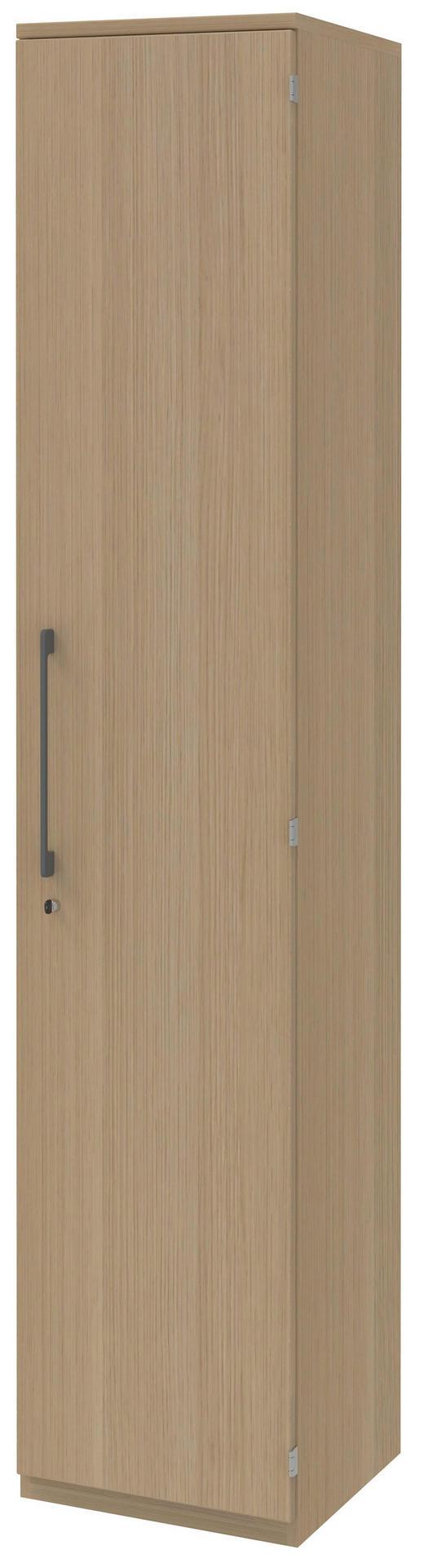 AKTENSCHRANK Eichefarben - Eichefarben, Design, Holzwerkstoff (42,7/217,4/43cm)