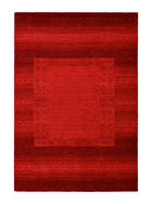 ORIENTTEPPICH 90 160  cm - Rot, KONVENTIONELL, Textil (90 160 cm) - Esposa