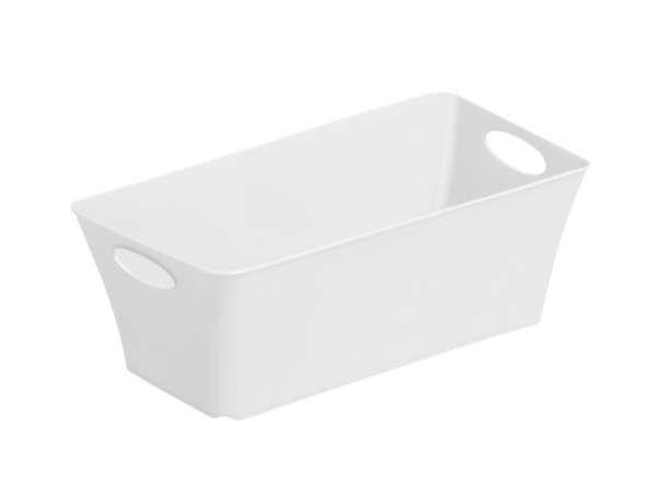 Living Box 2,0L Kunststoff Weiß - Weiß, Basics, Kunststoff (25.2/13.4/9cm) - ROTHO