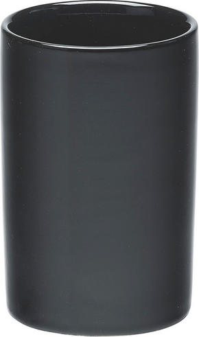 TANDBORSTMUGG - svart, Basics, keramik (6/15cm)