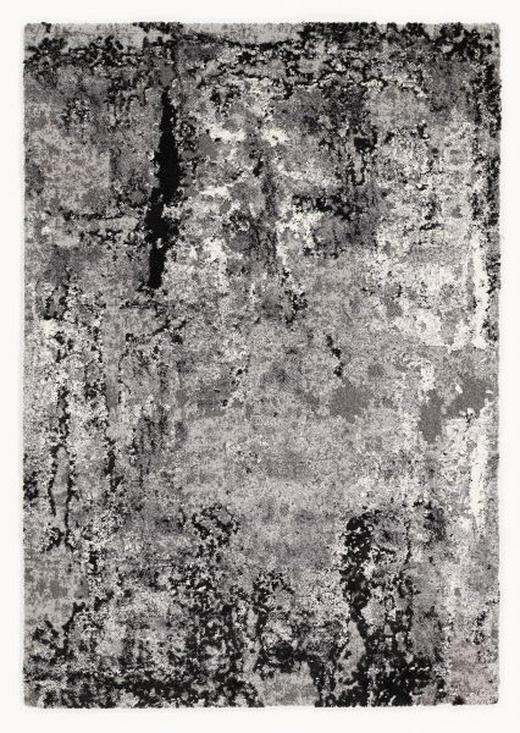 VINTAGE-TEPPICH  65/130 cm  Dunkelgrau, Grau, Hellgrau - Dunkelgrau/Hellgrau, Trend (65/130cm) - Novel
