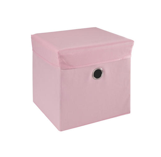 SPIELZEUGBOX 32/32/32 cm - Rosa, Trend, Holz/Kunststoff (32/32/32cm) - My Baby Lou