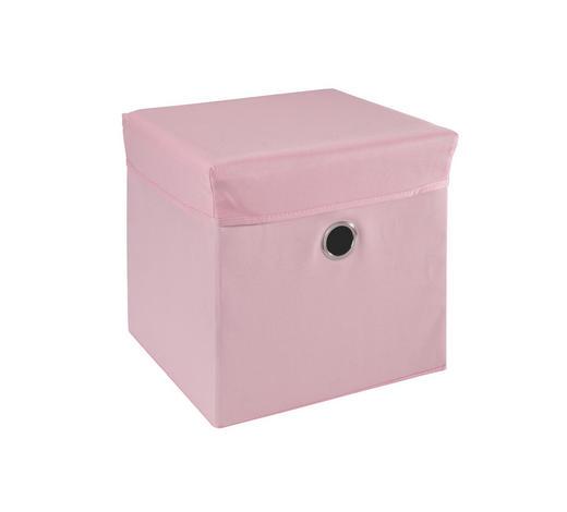 SPIELZEUGBOX 32/32/32 cm  - Rosa, Trend, Holz/Kunststoff (32/32/32cm) - My Baby Lou