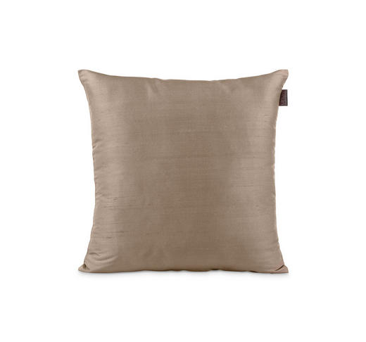 KISSENHÜLLE Schlammfarben 40/40 cm - Schlammfarben, Basics, Textil (40/40cm) - Linum