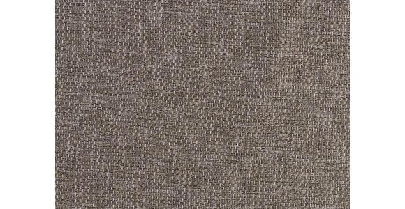 HOCKER in Textil Grau, Orange - Schwarz/Orange, Design, Kunststoff/Textil (155/47/78cm) - Hom`in