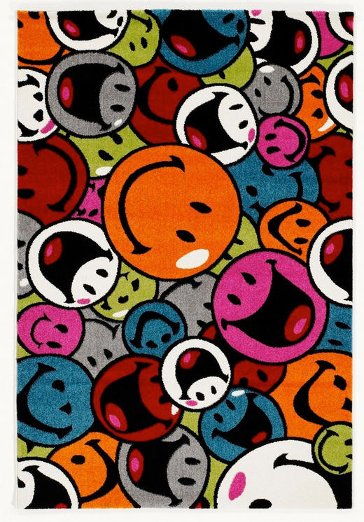WEBTEPPICH - Multicolor, Trend, Textil (160/230cm) - Novel