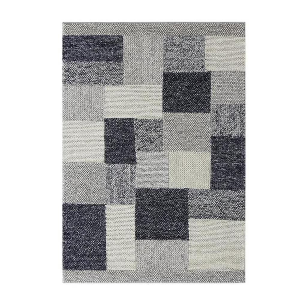 Linea Natura Wollteppich , Grau , Textil , rechteckig , 160 cm , Teppiche & Böden, Teppiche, Naturteppiche