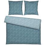 BETTWÄSCHE Flanell Blau 200/200 cm  - Blau, KONVENTIONELL, Textil (200/200cm) - Esposa