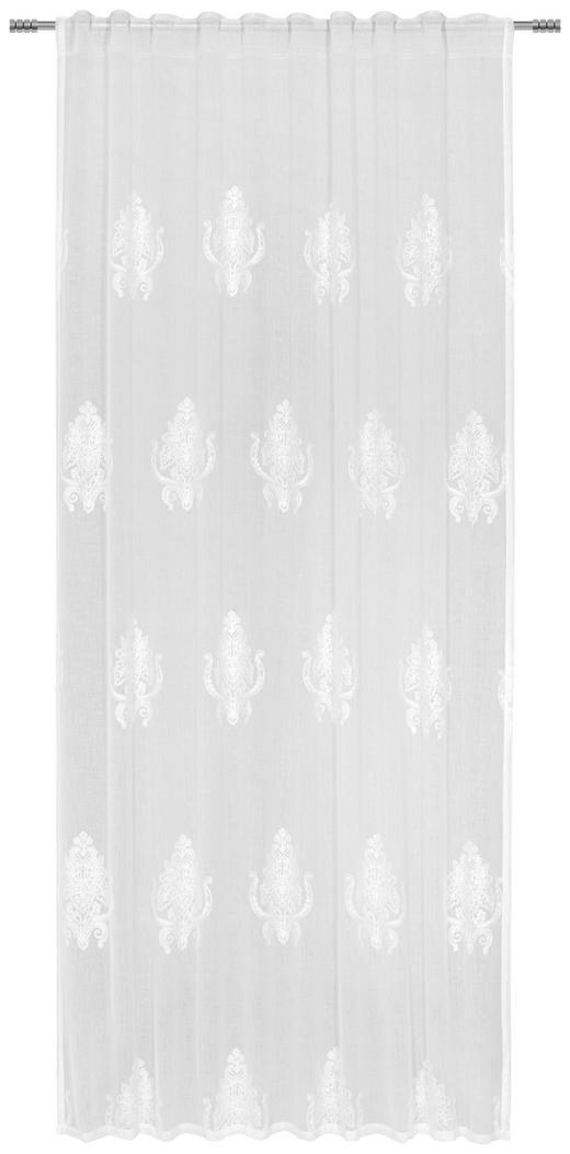 FERTIGVORHANG halbtransparent - Weiß, LIFESTYLE, Textil (135/245/cm) - Esposa
