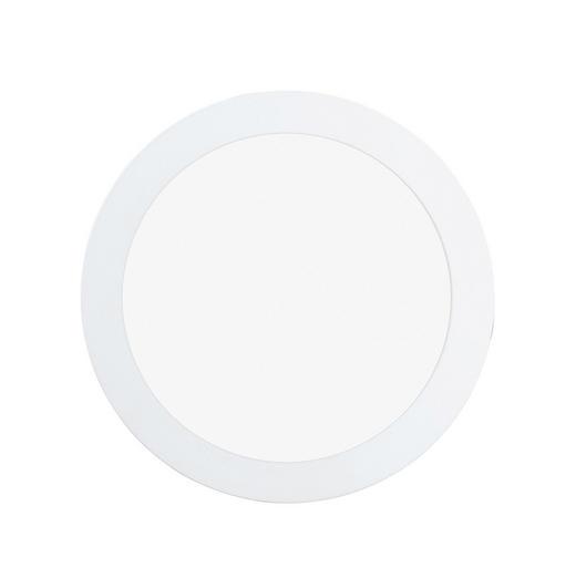 EINBAULEUCHTE Fueva - Weiß, Design, Metall (17/3cm)