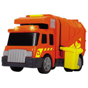 Müllauto mit Tonne - Multicolor/Orange, Basics, Kunststoff (9,7/19,5/12,7cm)