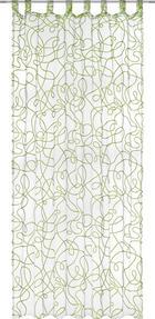 ZÁVĚS - bílá/zelená, Konvenční, textil (140/245cm) - Boxxx
