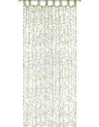 ZÁVĚS - bílá/zelená, Konvenční, textilie (140/245cm) - Boxxx