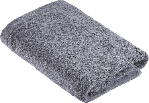 HANDTUCH 50/100 cm - Anthrazit, Basics, Textil (50/100cm) - Cawoe