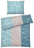 BETTWÄSCHE 140/200 cm - Blau, Design, Textil (140/200cm) - BOXXX