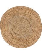 ROČNO TKANA PREPROGA BRAIDED - naravna, Basics, tekstil (100cm) - Linea Natura