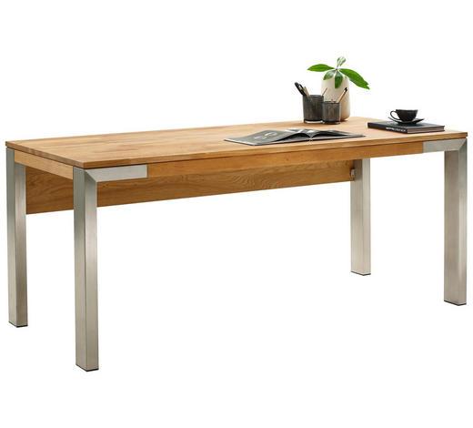 Schreibtisch In Holz Metall 180 75 80 Cm