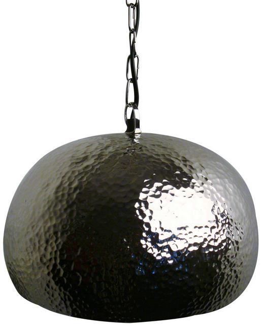 HÄNGELEUCHTE - Schwarz, LIFESTYLE, Metall (34cm)