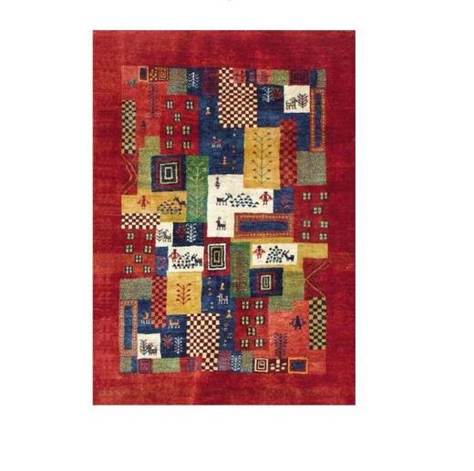 ORIENTTEPPICH, 100 150  cm - Rot, LIFESTYLE, Textil (100 150 cm) - Esposa