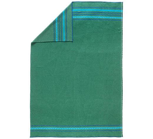 KUSCHELDECKE 140/200 cm - Grün, KONVENTIONELL, Textil (140/200cm) - David Fussenegger
