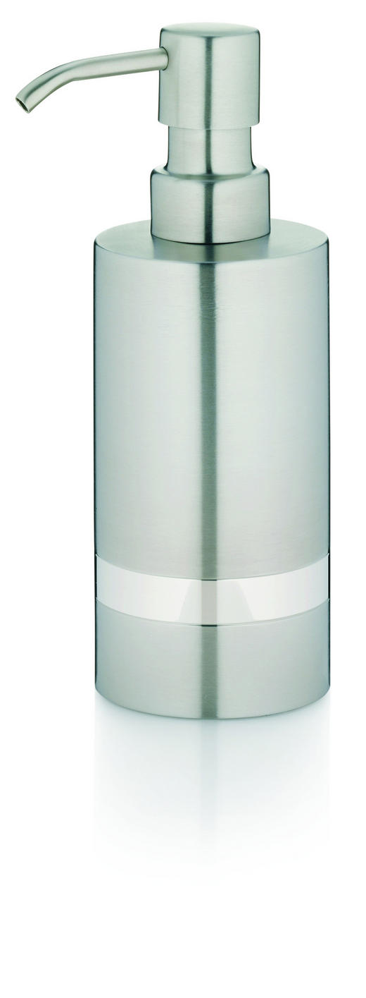 SEIFENSPENDER - Silberfarben, Basics, Metall (6/17,5cm)