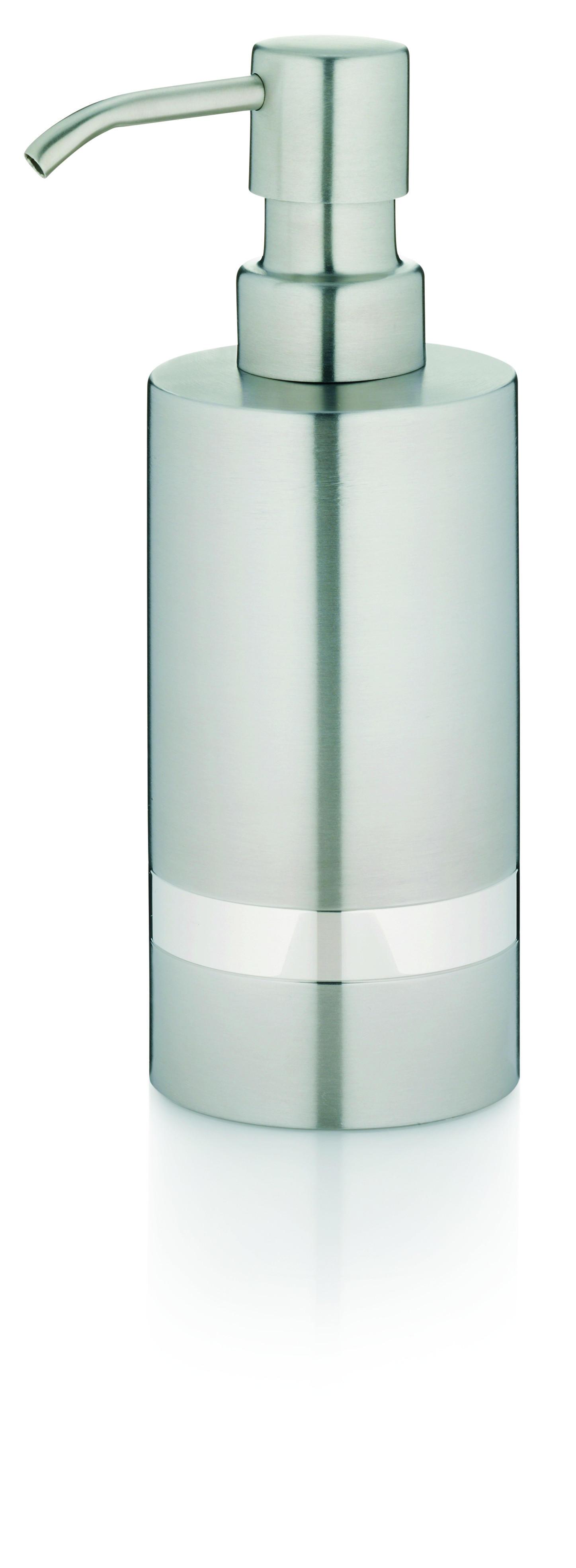 SEIFENSPENDER - Silberfarben, Metall (6/17,5cm)