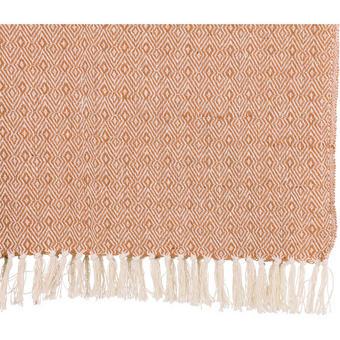 DECKE 125/150 cm Orange - Orange, Basics, Textil (125/150cm)