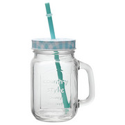 GLAS - blå/transparent, Trend, glas (0,45l) - HOMEWARE