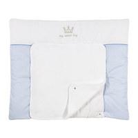 PREVIJALNA PODLOGA SWEET BOY - modra/bela, Basics, tekstil (85/72cm) - Patinio