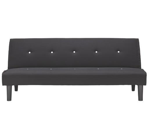 TROSJED SOFA - bijela/crna, Design, drvo/tekstil (179/77/93,5cm) - Boxxx