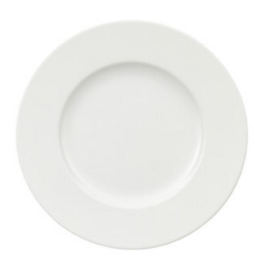 Bone China  DESSERTTELLER  rund - Weiß, Basics, Keramik (17cm) - Villeroy & Boch