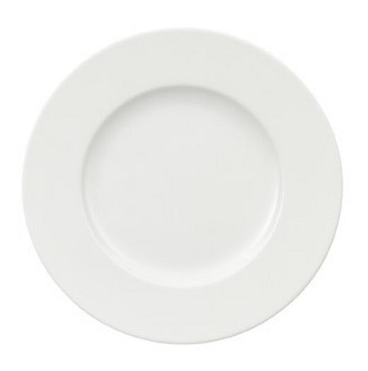 Bone China  DESSERTTELLER  rund - Weiß, Basics (17cm) - Villeroy & Boch