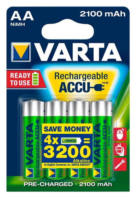 BATTERIE - Basics (8/12/1.6cm) - Varta